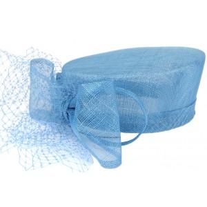 Chapeau mariage Turquoise