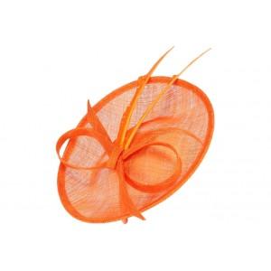 Chapeau mariage Orange Middla