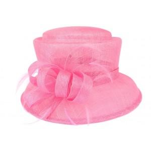 Chapeau mariage Rose Nanny