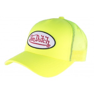 Casquette Von Dutch Jaune Fresh