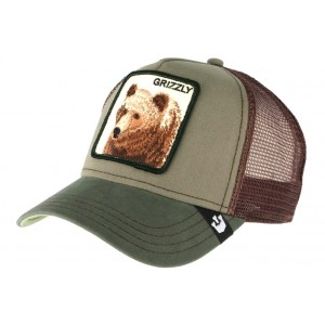 Casquette Goorin Grizz Marron