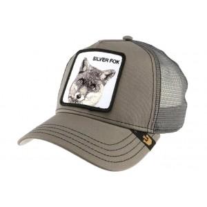 Casquette Goorin Bros Grise Silver Fox