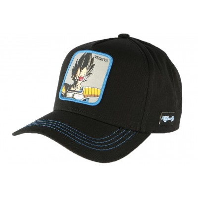 Casquette Vegeta Dragon Ball Z Collabs Noire