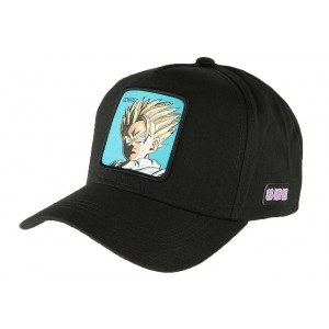 Casquette Dragon Ball Z Gohan Collabs noir
