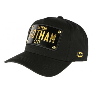 Casquette Batman Collabs Plaque Gotham City