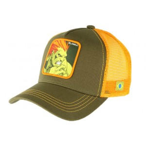 Casquette Street Fighter Blanka Collabs Verte
