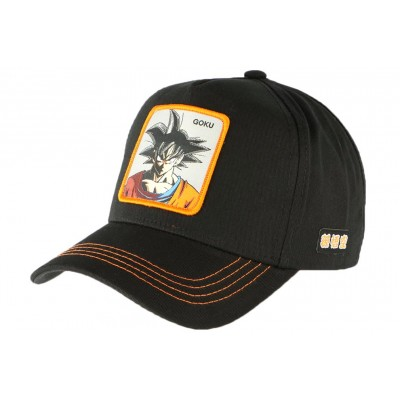 Casquette Dragon Ball Z Goku Collabs noir